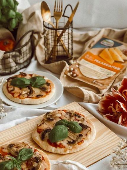 Wegetariańska mini-pizza